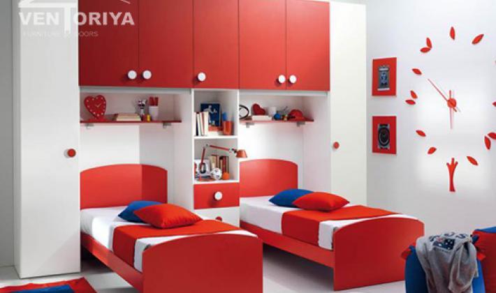 детска стая- материали ПДЧ богата гама цветове